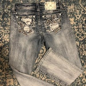 Miss Me Easy Boot  26 Short jeans